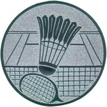 "Emblem 25mm ""Badminton"""