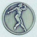 "Zinn-Emblem 50mm Bodybuilding ""Damen"""